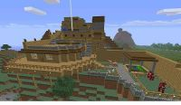 Minecraft Mountain House Pictures to Pin on Pinterest ...