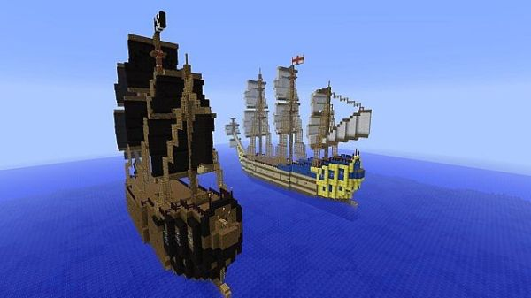 pirate ship battle game # 37