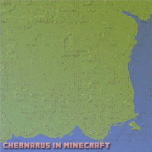 Chernarus in Minecraft Minecraft Project