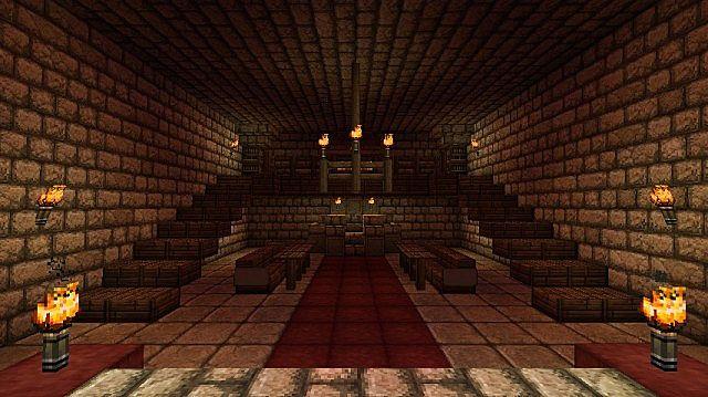 minecraft medieval fireplace