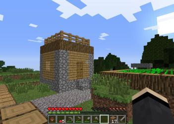 village hut witch minecraft either found possable