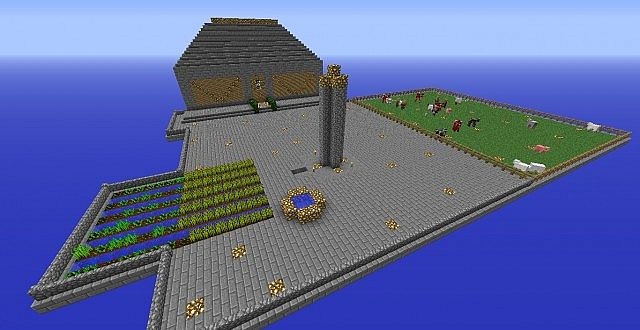 My Awesome Skyblock Minecraft Project