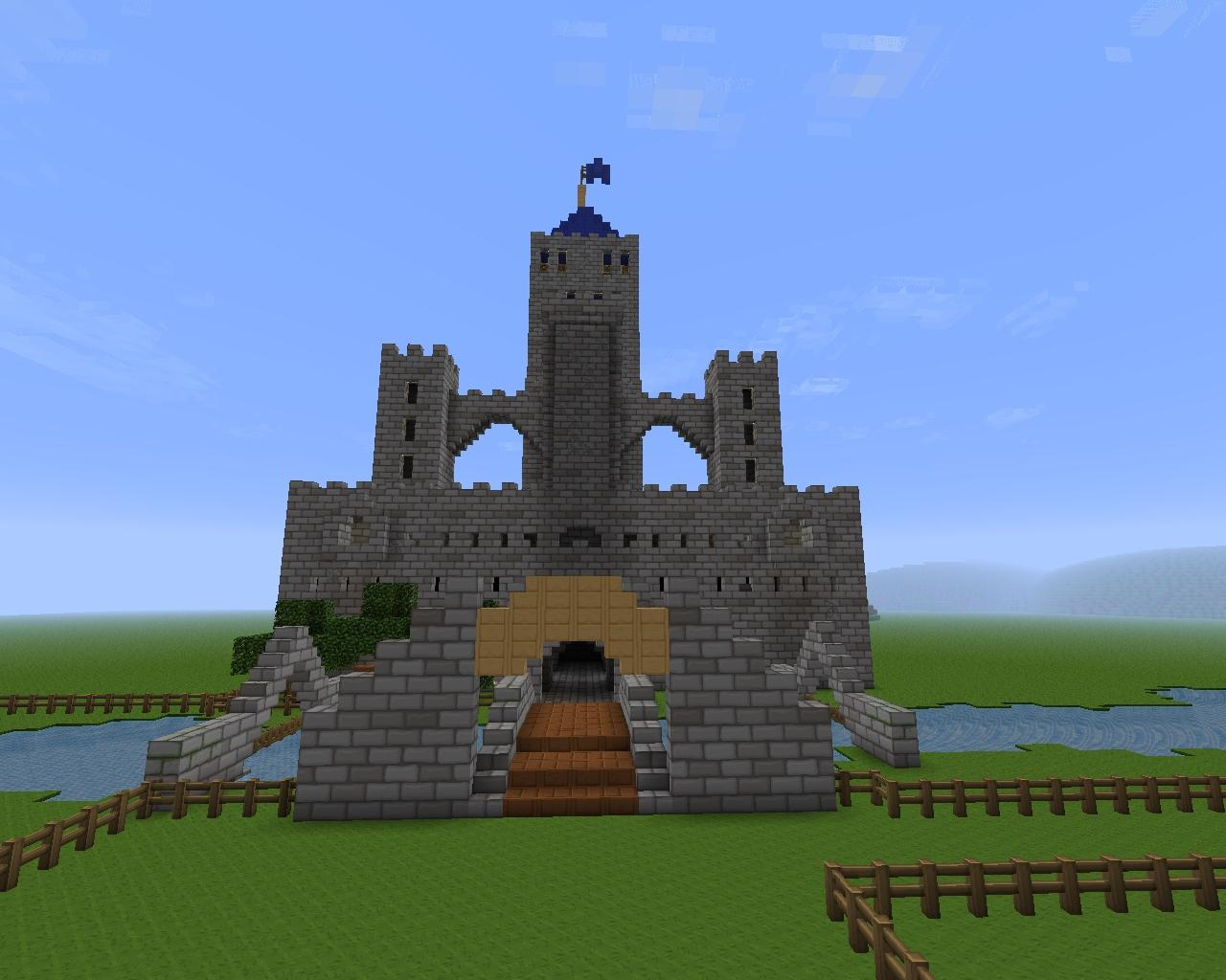 Epic medieval castle Minecraft Project