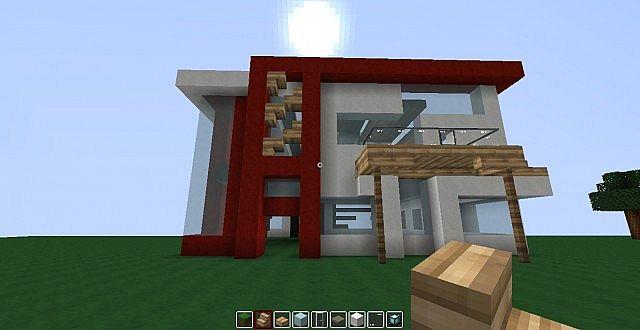 Minecraft Modern house Design Minecraft Project