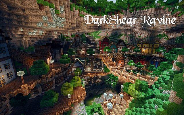 Darkshear Ravine Minecraft Project