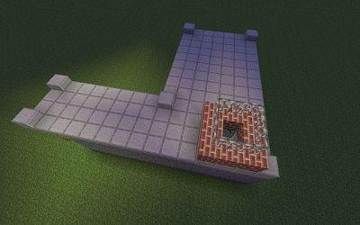 Minecraft Blacksmith Inside 1