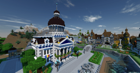 Provincial Town Hall Minecraft Map