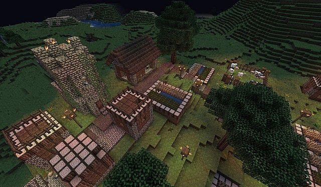 Better NPC Villages Minecraft Project