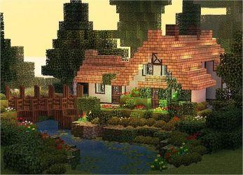 Cozy Cute Minecraft Cottage