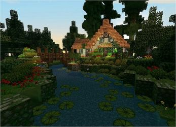 minecraft cottage stream cute houses front project tutorial planetminecraft builds map designs