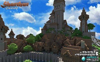 Minecraft Medieval City Map Download Peatix