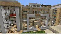 Modern Mansion 1 Minecraft Project