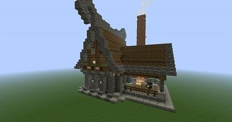 blacksmith medieval fantasy minecraft builds outside mike structure planetminecraft