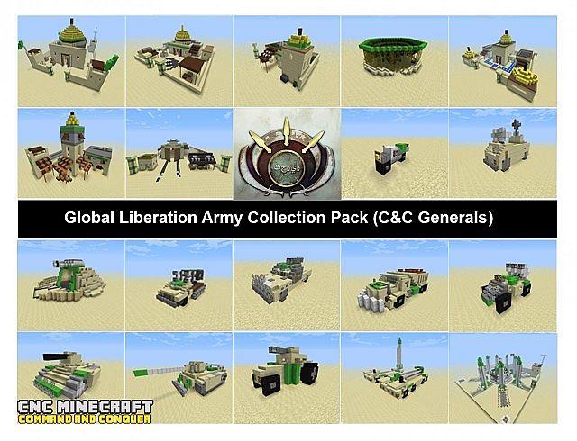 Desert Army Bundle CC Generals Minecraft Project
