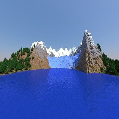 Glacier Map Minecraft Project