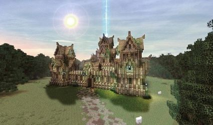 Elven keep Minecraft Map