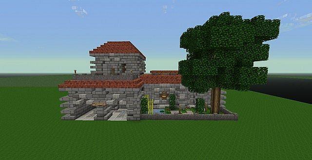 Roman House Minecraft Project