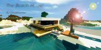 Modern - The Beach House Minecraft Project