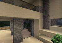 The Cool Backyard House [Modern Complex] Minecraft Project