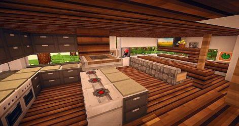 kitchen modern serenity minecraft