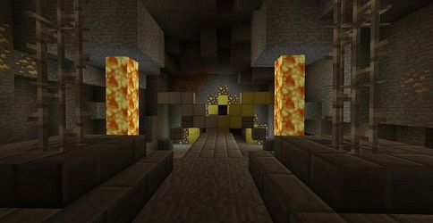 forge iron dwarven area minecraft lobby further main into