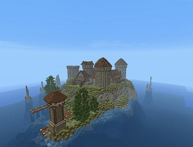 Island Castle DOWNLOAD Minecraft Project