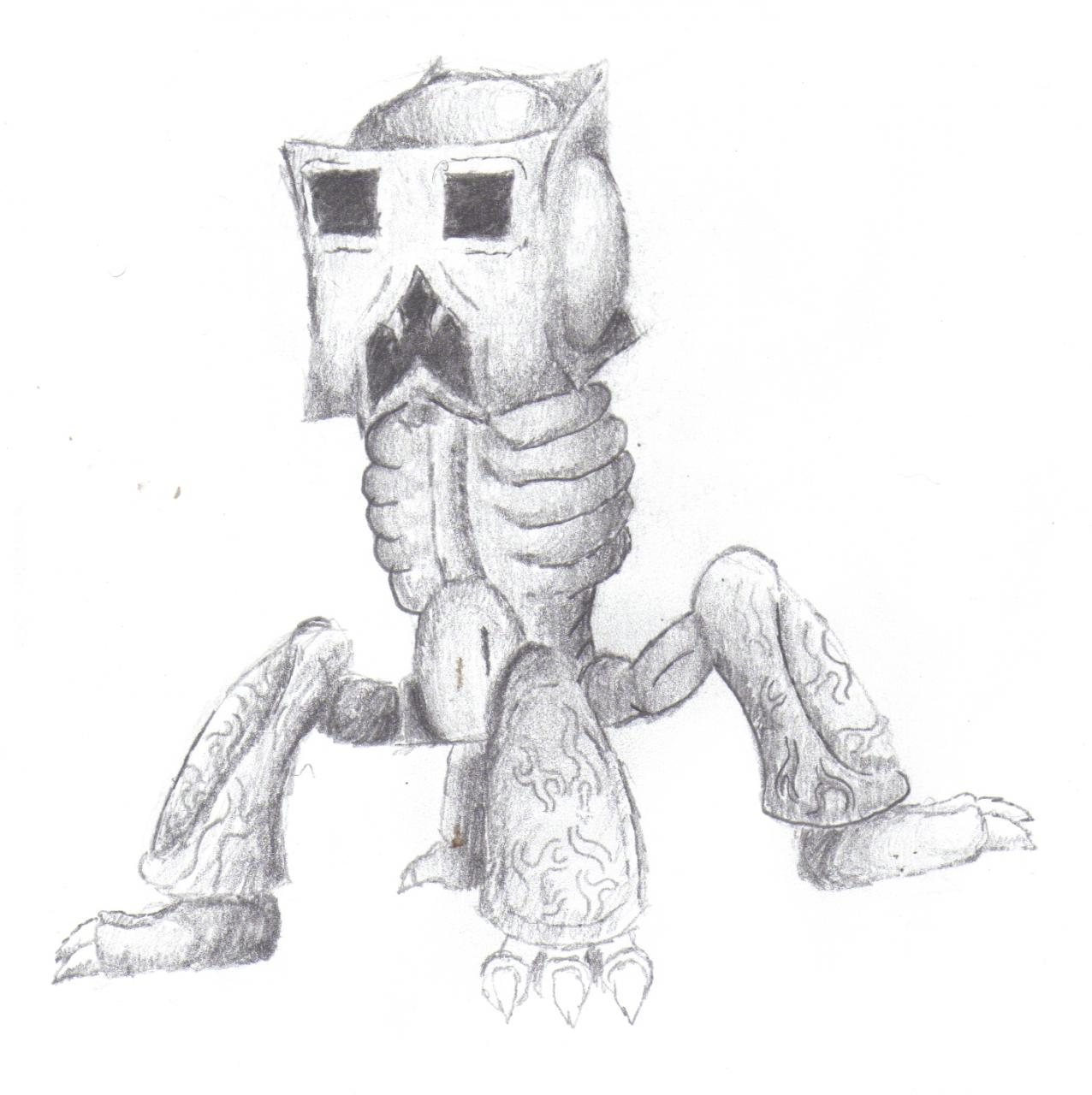 Realistic Creeper Minecraft Blog