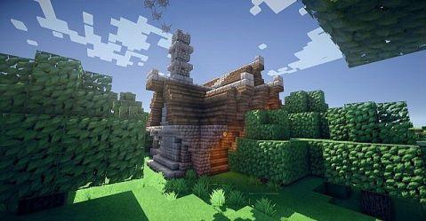 cottage cozy minecraft project tweet update
