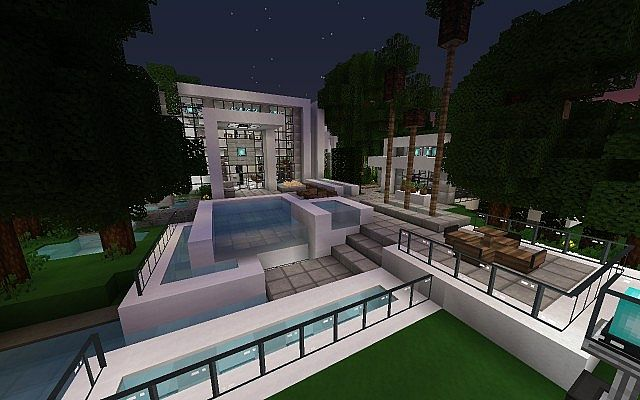 Modern  Iron Point Villa Minecraft Project