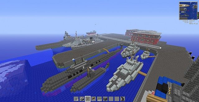 Mega Military Map Minecraft Project