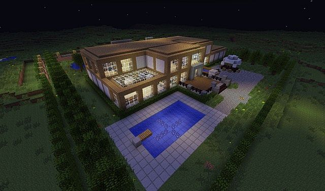 The Estate {Minecraft Mansion Project #1} Minecraft Project
