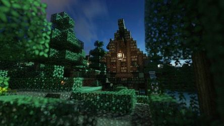 Small Medieval Fantasy House Minecraft Map