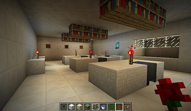 secret underground laboratory Minecraft Project