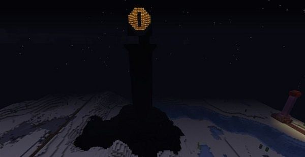 Eye of Sauron Minecraft Project