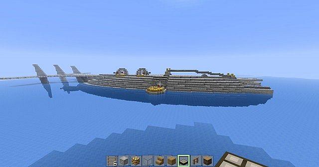 ulysses submarine Minecraft Project