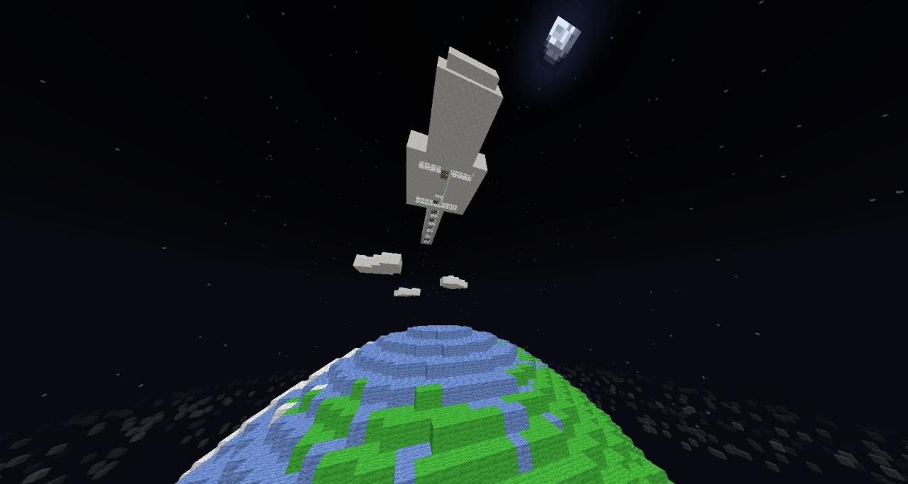 International Minecraft Space Station! =For the Contest