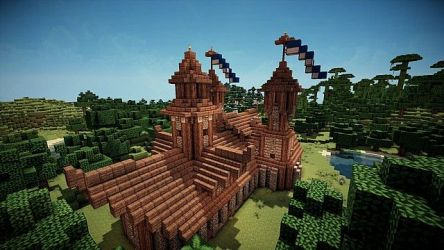 hall town medieval minecraft viewer