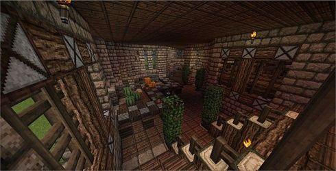medieval kitchen soup minecraft guild warrior warriors planetminecraft