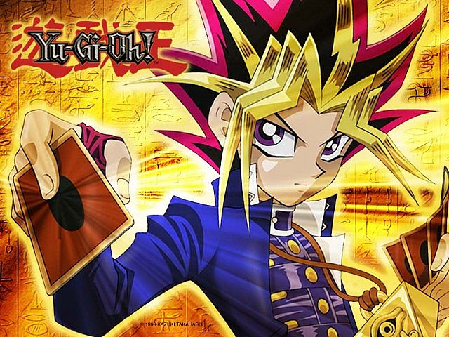 Main character (Yami) Yugi Moto from the from the popular comic/television series Yu-Gi-Oh. Courtesy of Planet Minecraft