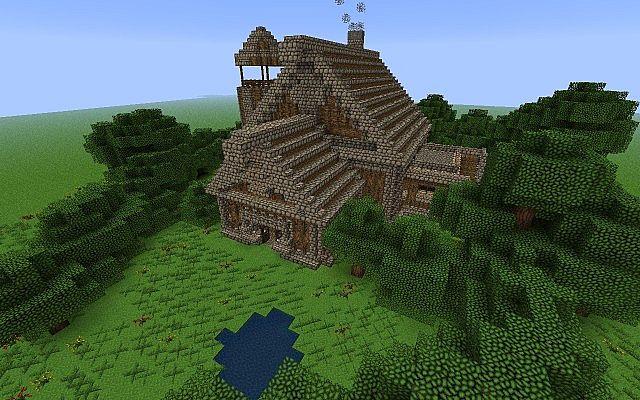 SkyrimHearthfire House Minecraft Project