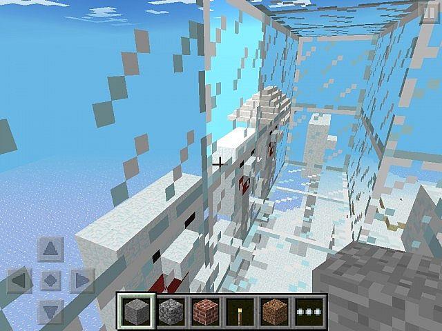 Ice Town Survival Minecraft PE Minecraft Project