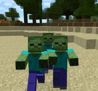 Villagers vs Zombies Minecraft Project