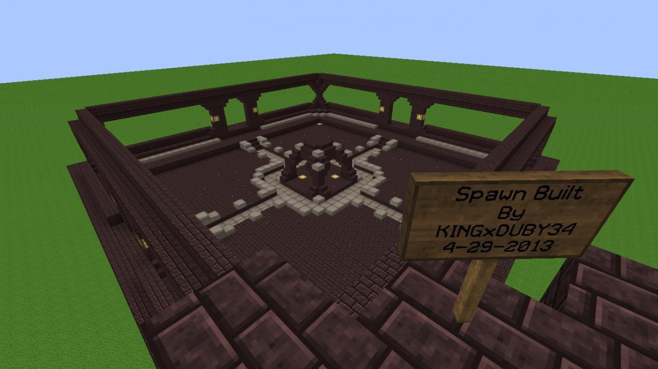 NetherRack Spawn Minecraft Project