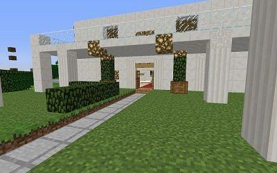 casa minecraft moderna