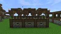 Medieval Wall template Minecraft Project