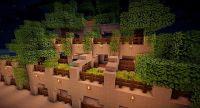 Maze in Garden Temple - Desert Nissipia Minecraft Project