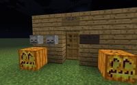 herobrine's house (for halloween) Minecraft Project