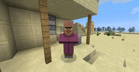 npc blacksmith desert village distance minecraft walking spawn pyramid planetminecraft