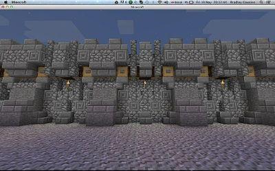 medieval wall walls minecraft
