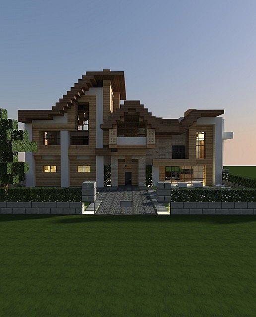 Spanish Villa Minecraft : spanish, villa, minecraft, Modern], Spanish, Villa, Style], Minecraft